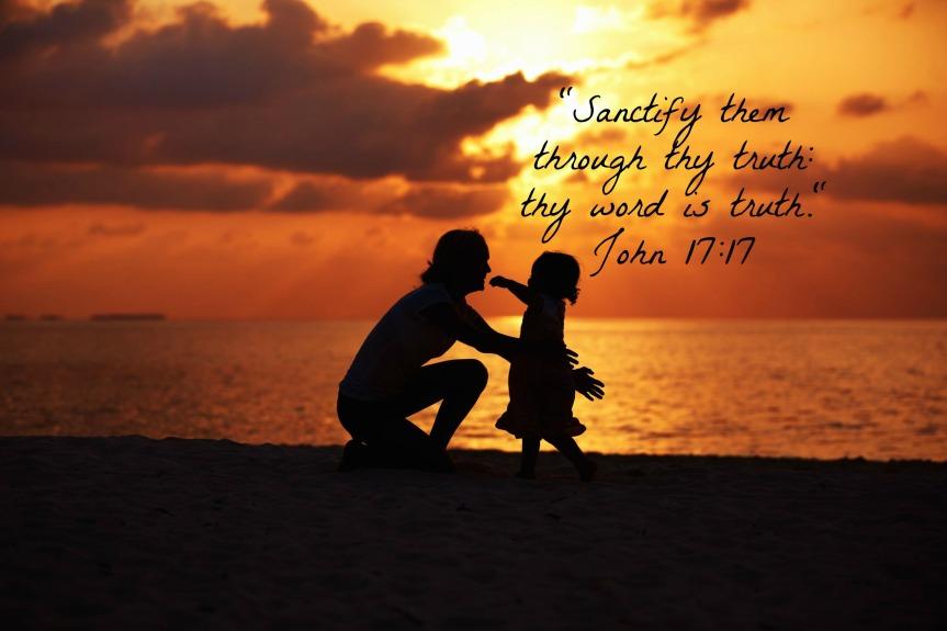 Motherchild-sunset
