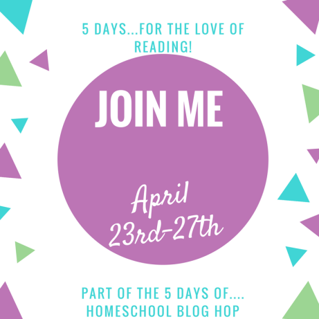 5 Days...For the Love of Reading!