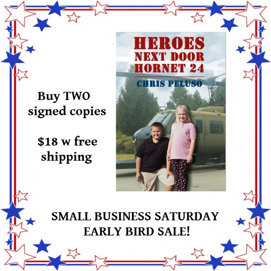 Small business saturday sale flyer