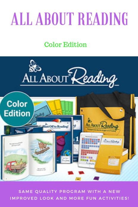 All About Reading's new color edition review