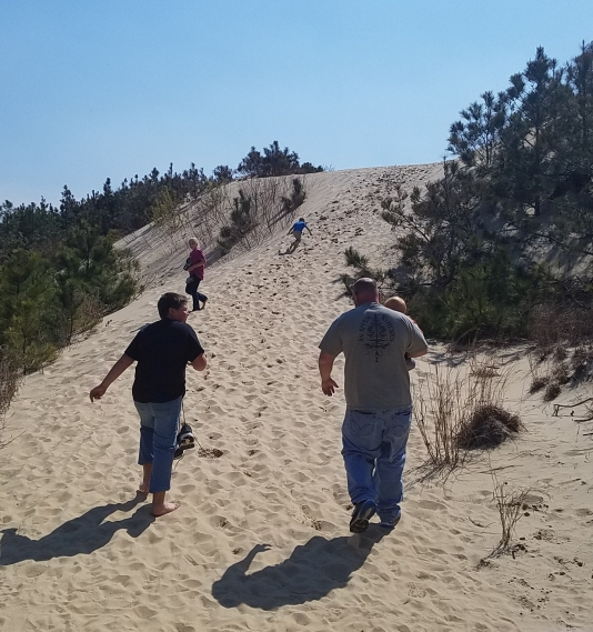 One of Our Latest Hikes: Jockey's Ridge State Park