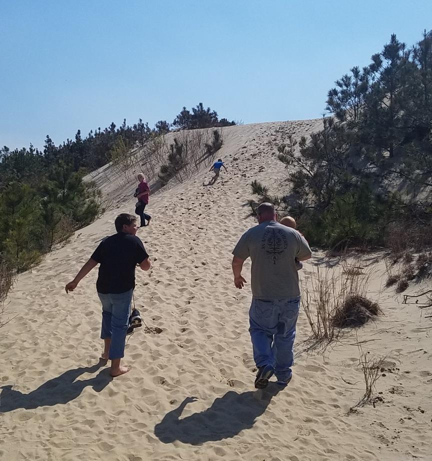 sand hike