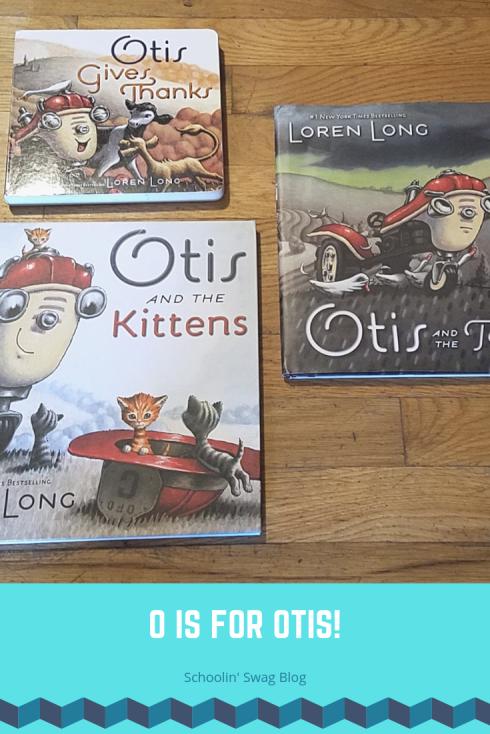 O is for Otis Pinterest