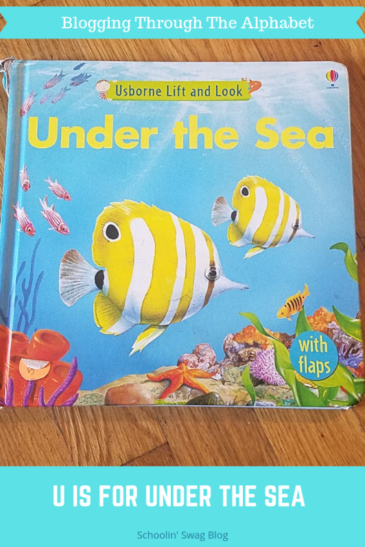 U is for Under the Sea Pinterest