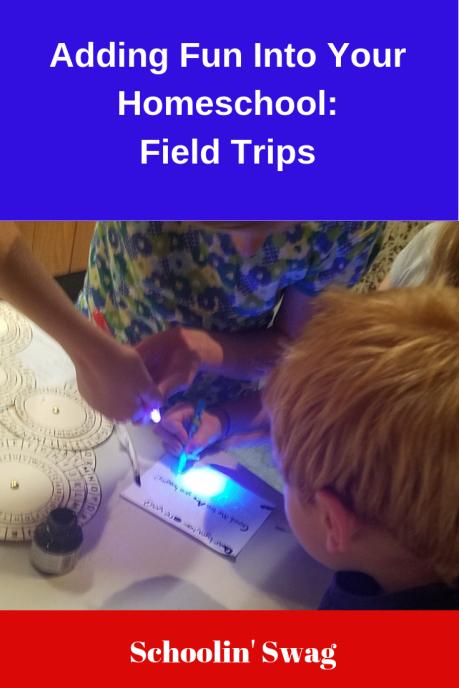Adding Fun Field Trips