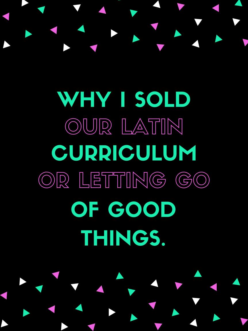 Sold Latin Graphic