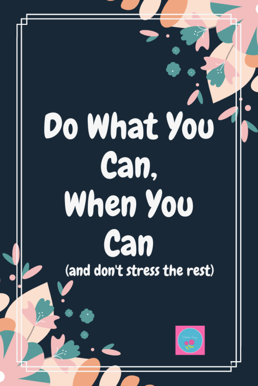 Do What You Can Pinterest