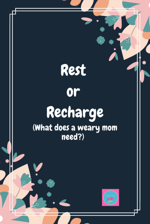 rest or recharge graphic