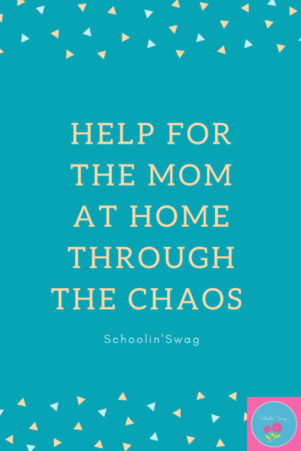 at home amidst the chaos