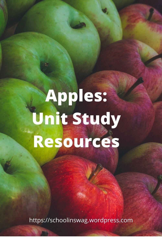 Apples Unit Study Resources